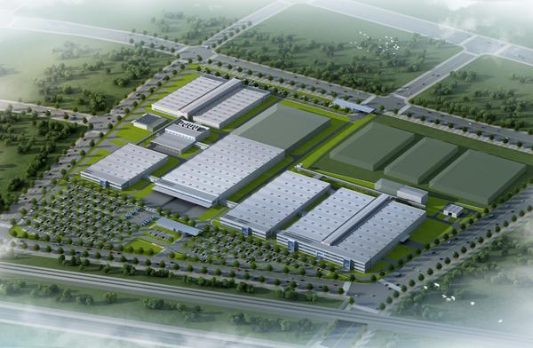 本项目位于江苏省南京市栖霞区的经济技术开发区内。项目用地面积239286m²,新建总建筑面积约105000m²。新厂房主要生产火花塞、刹车片和汽车诊断系统。本项目为目前为止博世公司在中国投资的最大工厂。